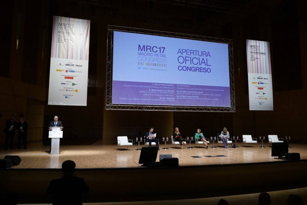 Inauguración de Madrid Retail Congress 2017
