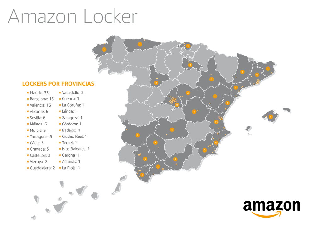 Mapa España_Amazon Locker (1)