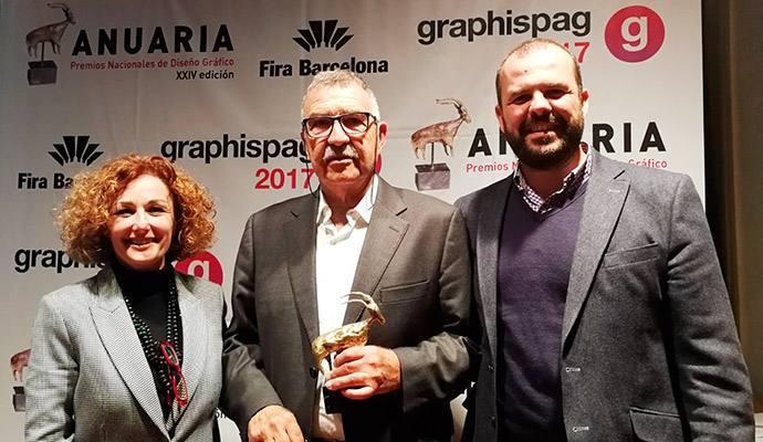 Manel Vila del Olmo, premio a la trayectoria profesional en los Anuaria 2017