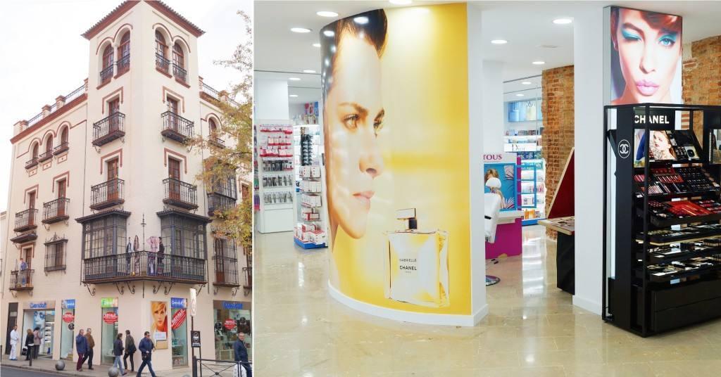perfumerias avenida EXTERIOR-INTERIOR