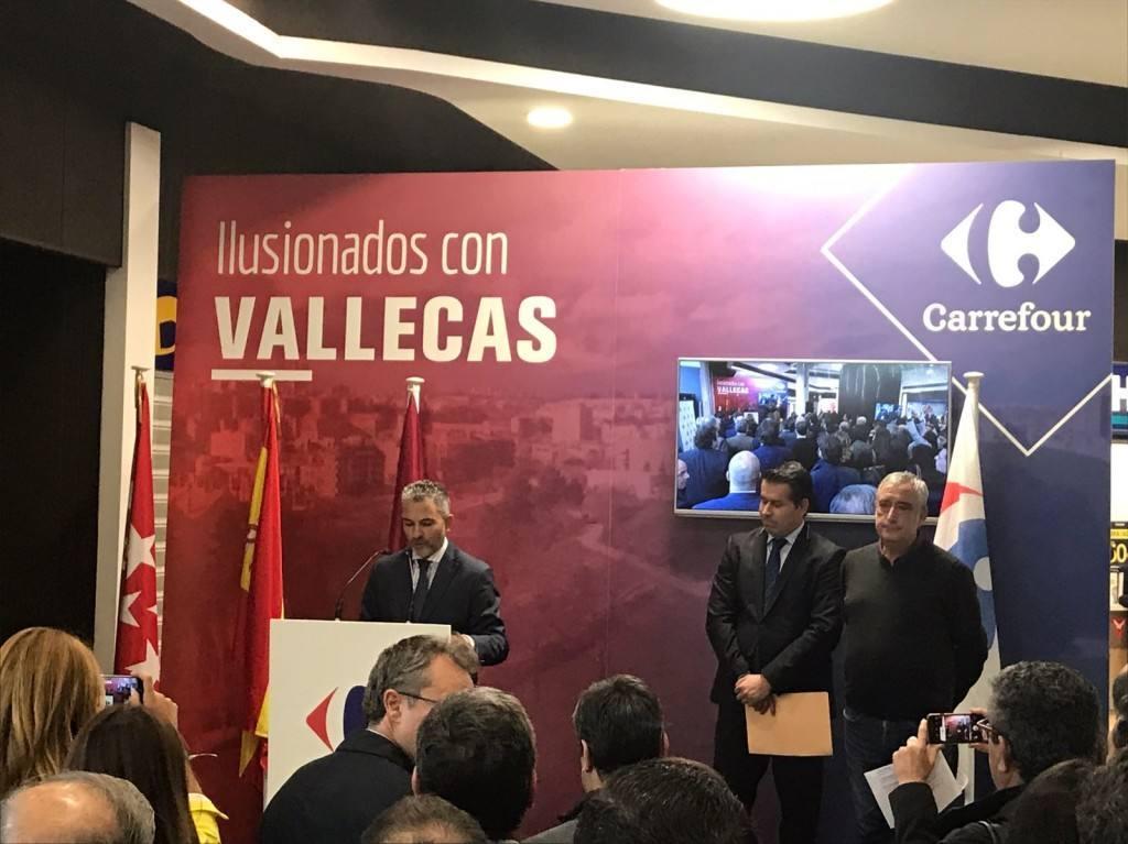 Carrefour Sur Hiper España VallecasPrimer Abierto 24 En Horas Madrid wO8yv0PmNn