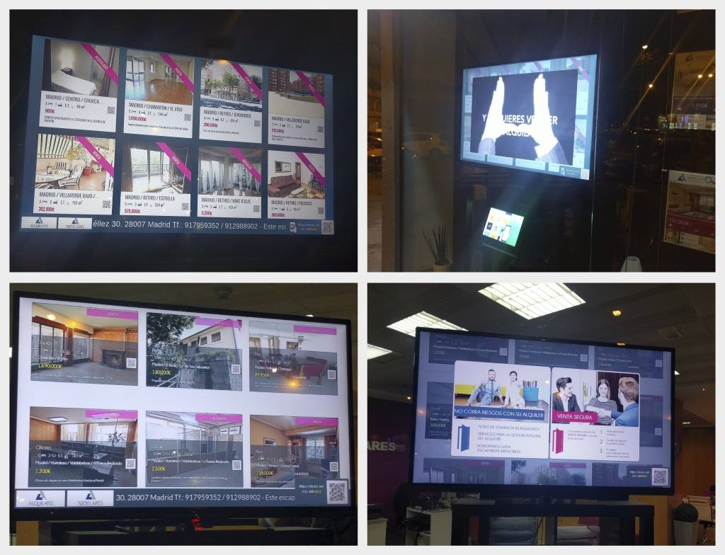 digital signage movilok