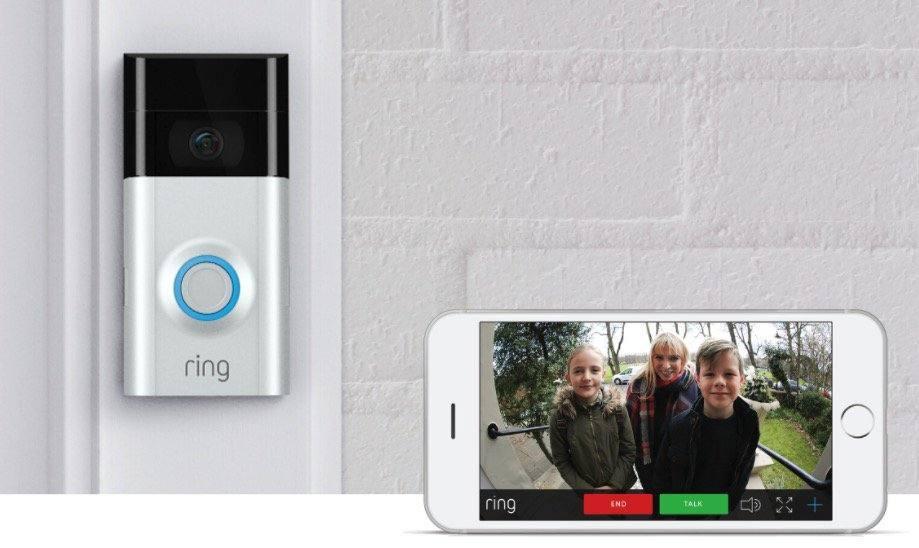 Amazon compra Ring y se hace fuerte en seguridad inteligente y hogares conectados