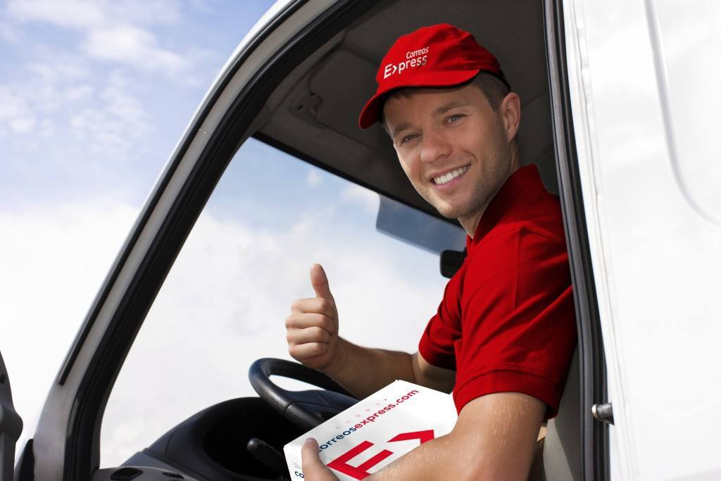 Postal service - delivery of a package