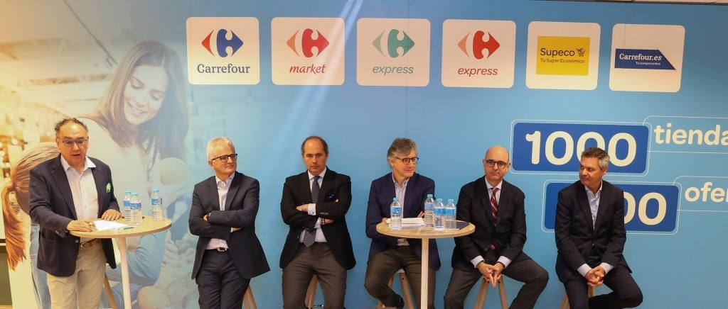 Carrefour alcanza el millar de tiendas, con el reto de liderar la transición del retail