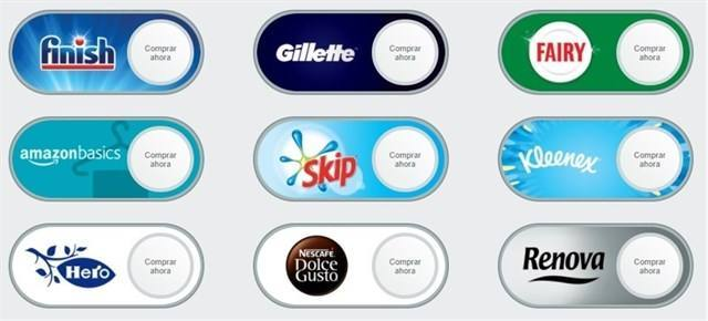 Amazon.es lanza los Dash Buttons Virtuales