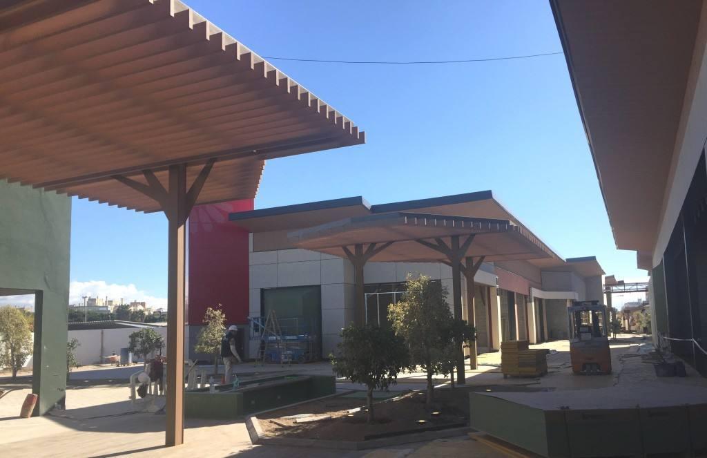 La nueva imagen sostenible del centro comercial Los Patios