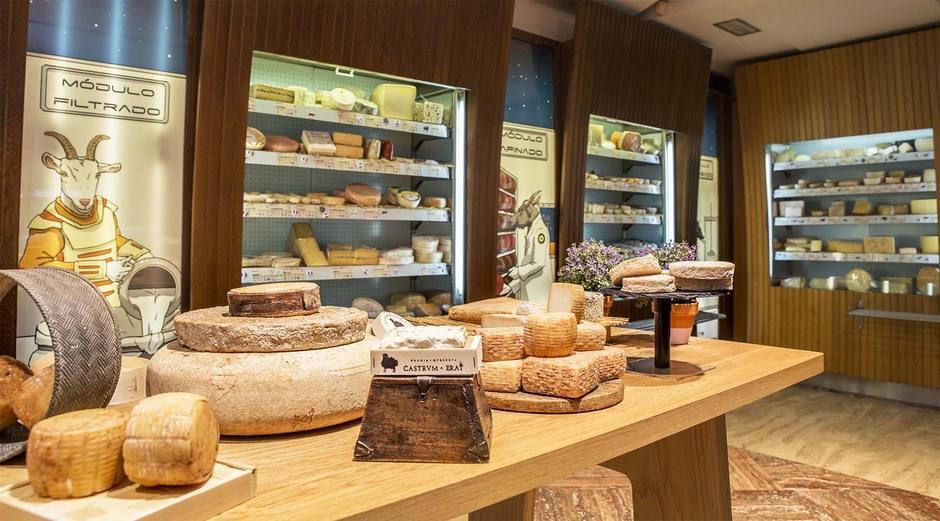 Poncelet, en Madrid, entre las seis mejores tiendas de quesos del mundo