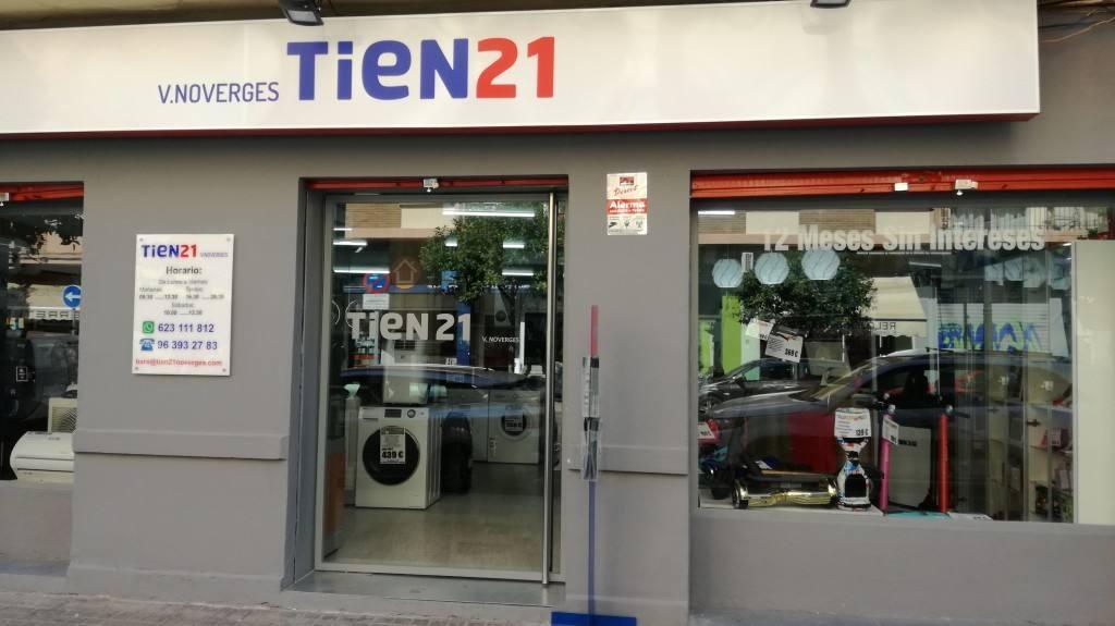 Dos nuevas tiendas Tien 21 en Valencia