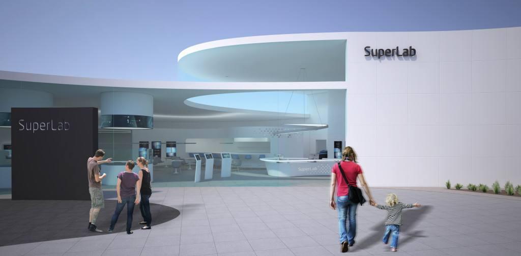 Un paseo por el supermercado del futuro,  con Superlab