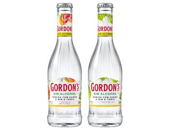 Gordon's Sin, primera bebida con sabor a gin-tonic sin alcohol
