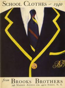 Brooks Brothers Catalog for boys school clothing (1940)