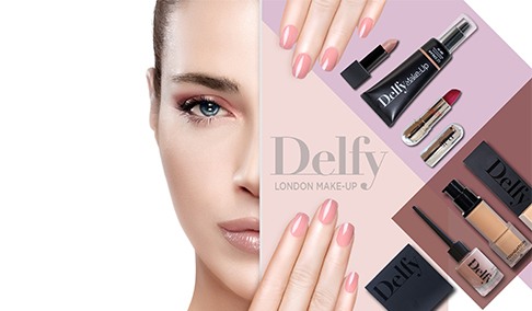 La firma cosmética británica Delfy, llega a España