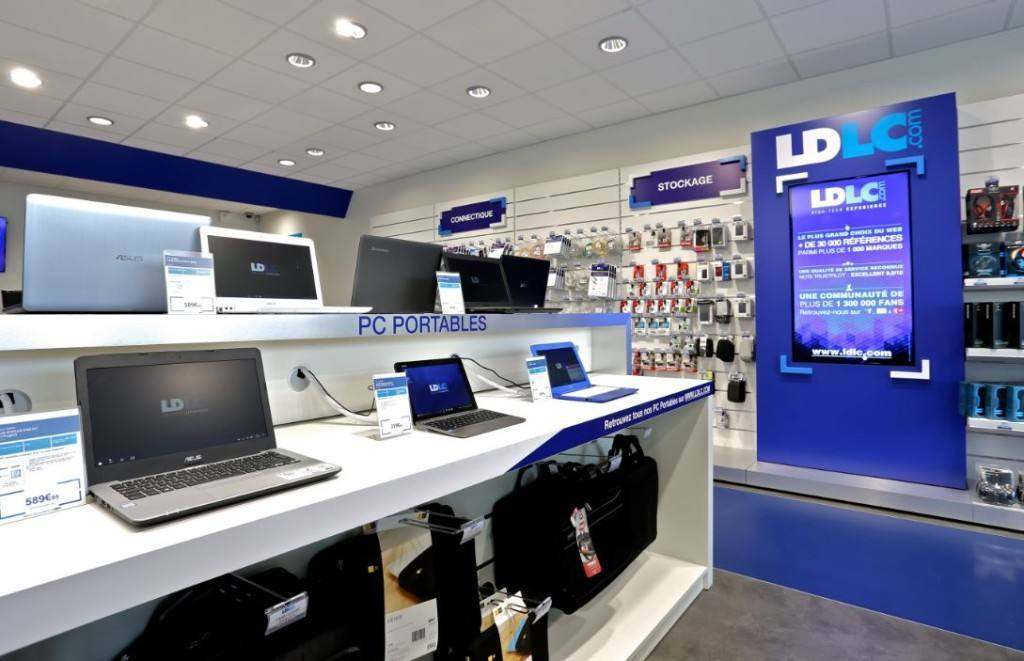 Nuevos conceptos retail llegan a España. LDLC, abre dos tiendas de informática y Hi-Tech