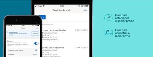 Ebay, lanza una herramienta de ventas para particulares