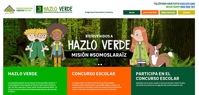 Leroy Merlin presenta la 3º Edición de su programa 'Hazlo Verde'