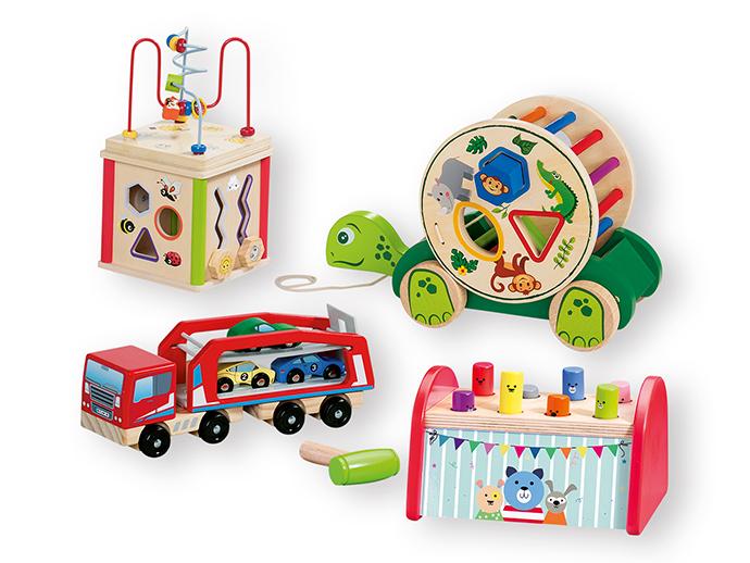 Los juguetes de madera 'Playtive Junior' de Lidl vuelven a sus tiendas por Navidad