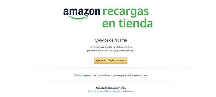 Amazon inagura su nuevo servicio para comprar en efectivo cualquier producto de la web Amazon.es.