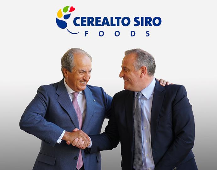 Juan Manuel González Serna, Presidente de Cerealto Siro Foods y Luis Ángel López, CEO de Cerealto Siro Foods.