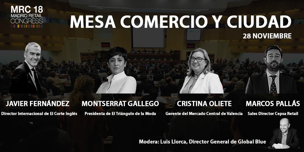 #MRC18. Madrid Retail Congress. Comercio y Ciudad, protagonistas
