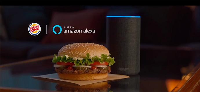 Burger King en Alexa. Así es pedir una hamburguesa por voz
