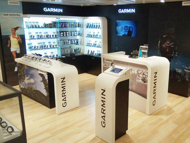 Garmin abre su segunda  'shop in shop'  en El Corte Inglés