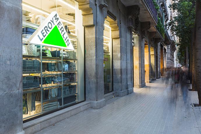 Leroy Merlin Urban,  en pleno centro de Barcelona