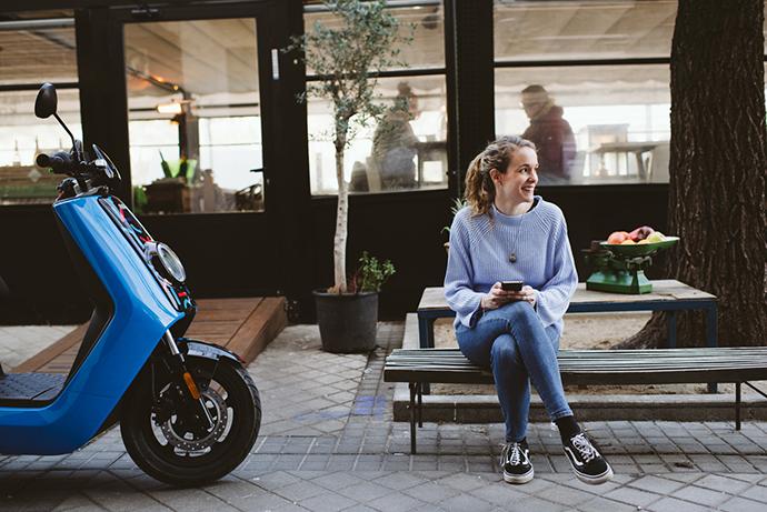 Cabify y Movo ya colaboraban juntos desde hace unos meses ofreciendo 500 motos eléctricas en la capital española.