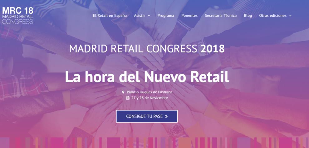 #MRC18. Especial Madrid Retail Congress 2018, en 18 claves
