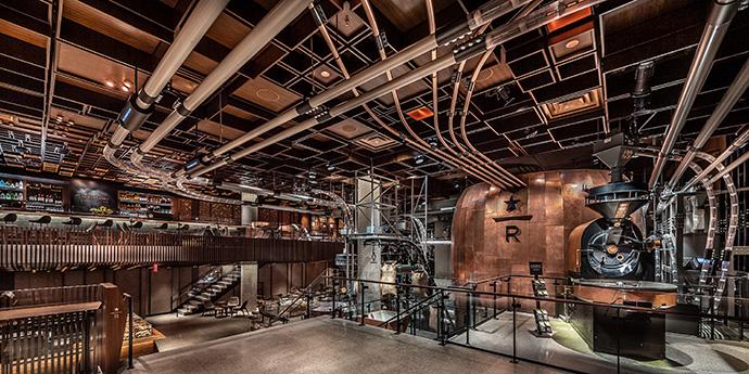 Starbucks abre su cuarta cafetería premium Reserve Roastery