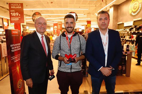 Worten inaugura una nueva tienda en el centro de Málaga