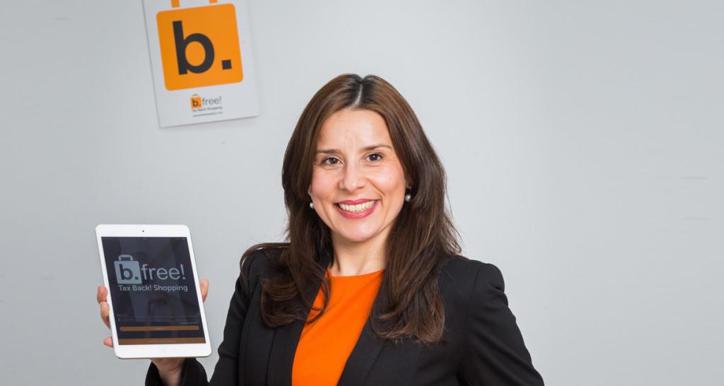 Alicia Maniega, co-fundadora y directora general de b.free !