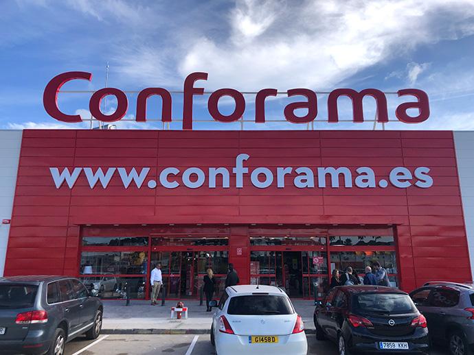 Conforama abre en Cádiz, su sexta tienda en Andalucía