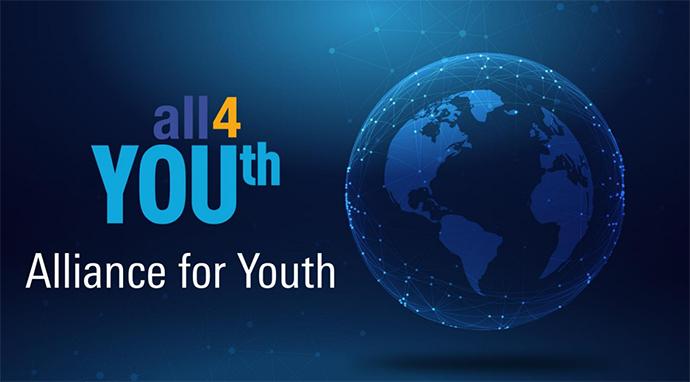 Nestlé ha puesto en marcha, junto a 20 empresas multinacionales, el proyecto 'Global Alliance for YOUth' para ayudar a seis millones de jóvenes.