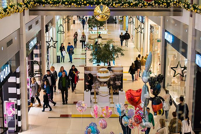 Navidad y promociones anticipadas,  impulsan la afluencia de los centros comerciales