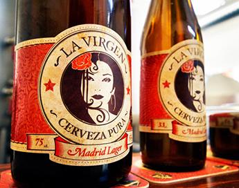 La Virgen, cerveza artesanal.