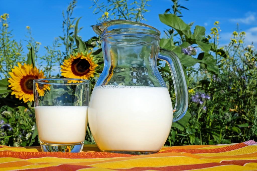 leche etiqueta