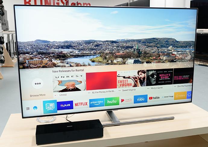El modelo de Smart TV Samsung Q7F fue el producto más buscado en España durante 2018, según el comparador de precios online, idealo.es.