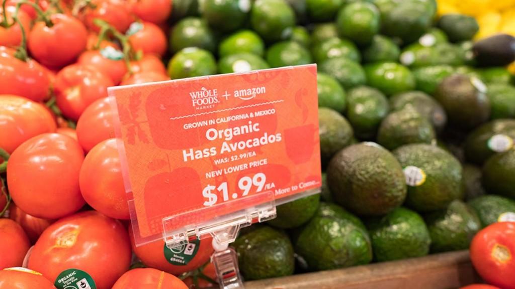 Los productos BIO de Whole Foods llegan a España con Amazon.com