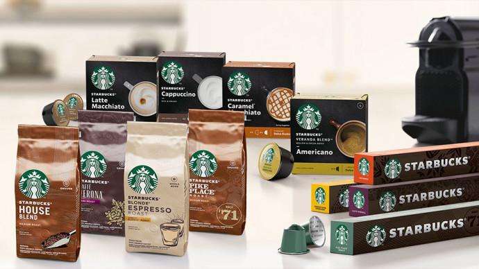 Nestlé - Starbucks
