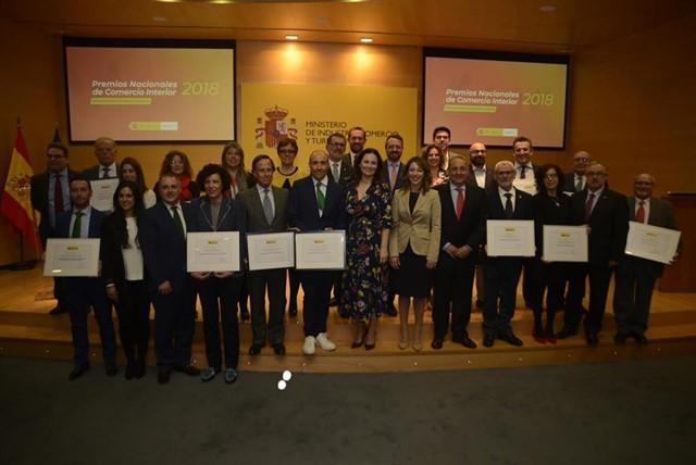 Entrega de los Premios Nacionales de Comercio