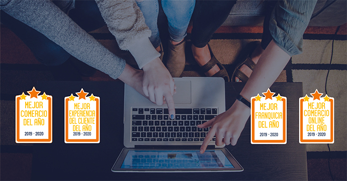 Las votaciones permitirán conocer al mejor comercio físico y online del año, así como la franquicia favorita.