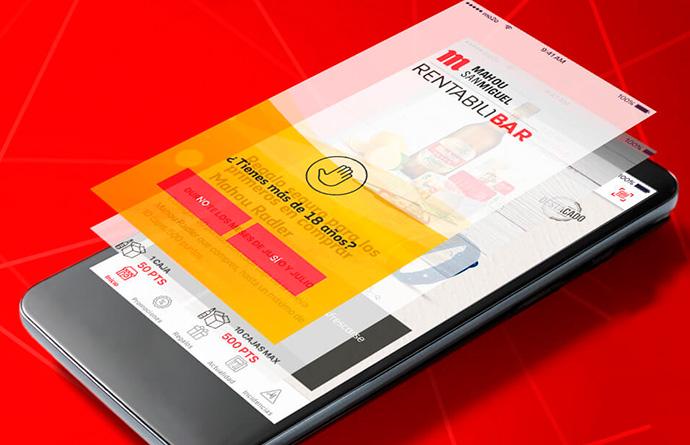"""Mahou lanza app para su plataforma con hosteleros """"Rentabilibar"""""""