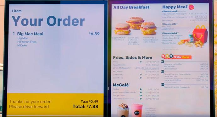 McDonald's compra Dynamic Yield y avanza en personalización
