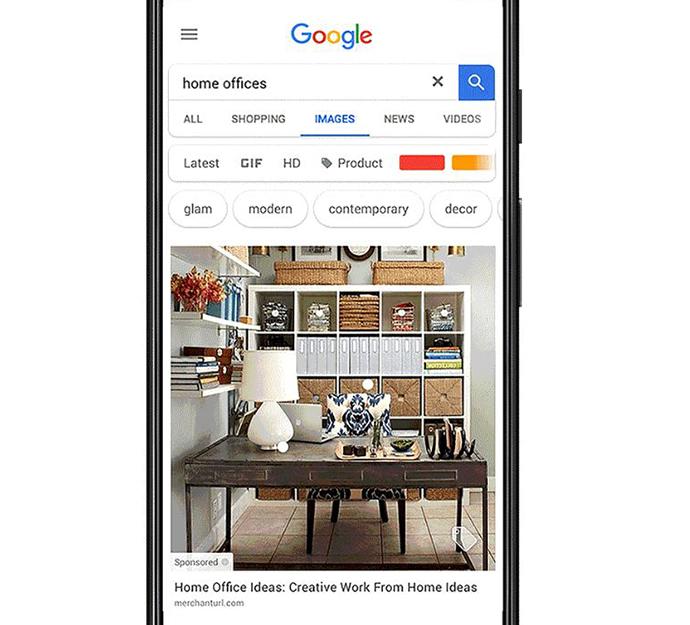 Google permite la compra directa desde sus resultados de imágenes