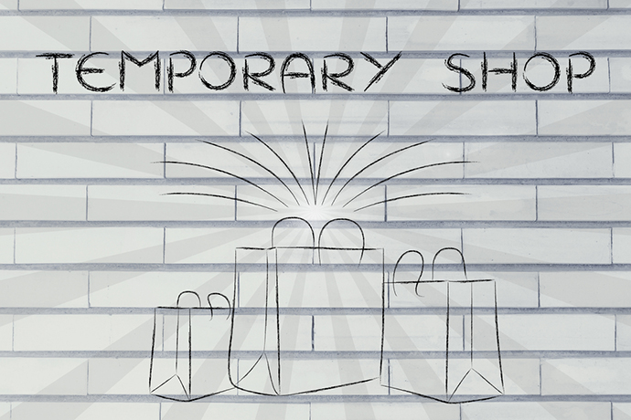Las temporary shops inducen a compra y reducen la pérdida de oportunidad
