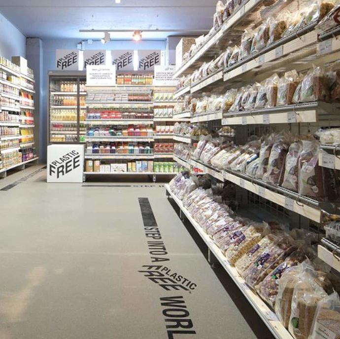 """Ekoplaza inaugura el primer pasillo """"libre de plásticos"""" en Ámsterdam"""