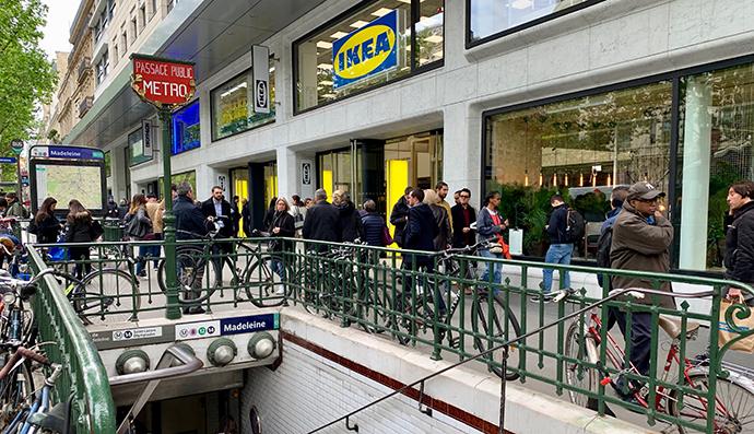 Ikea  y su primera tienda-ciudad en el corazón de París