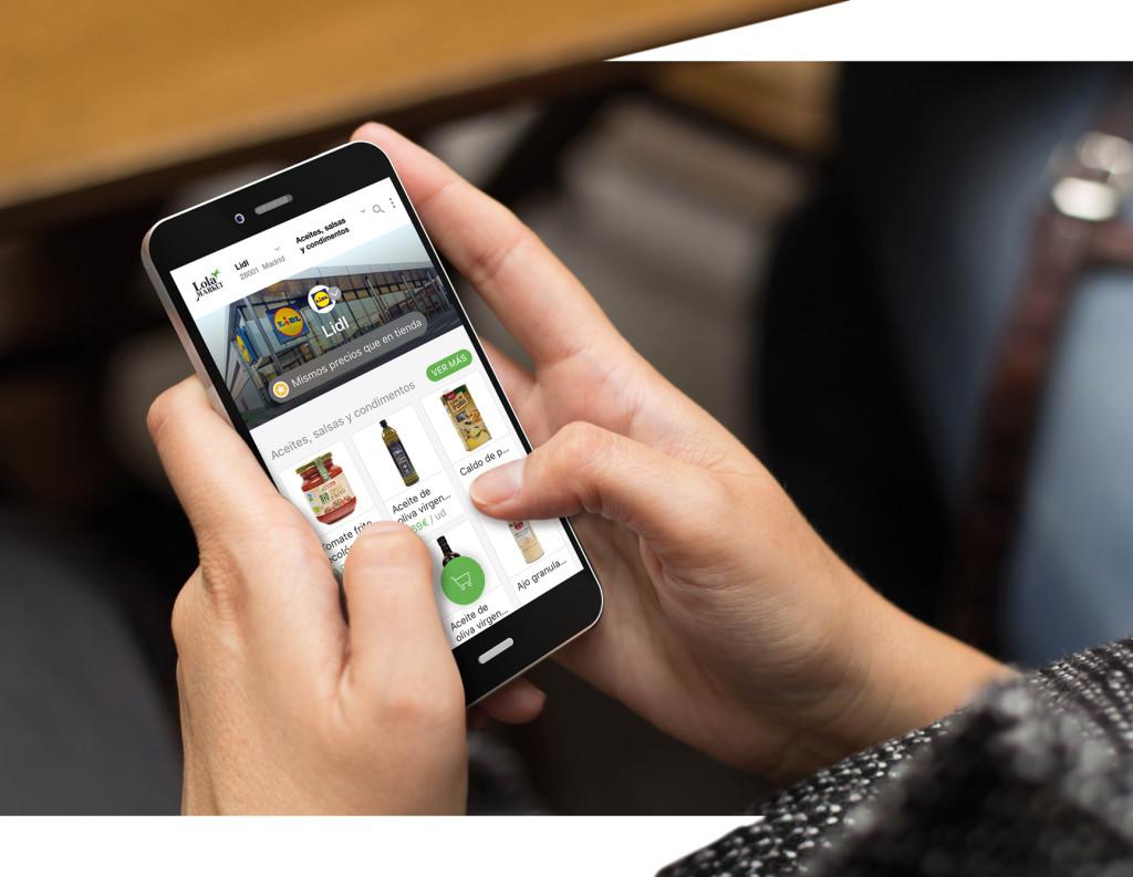 Lidl, inicia en Madrid su venta online de alimentación con Lola Market