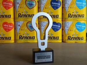 "Renova,  premio ""100 Mejores Ideas"" por su papel higiénico 'Pape Pack'"